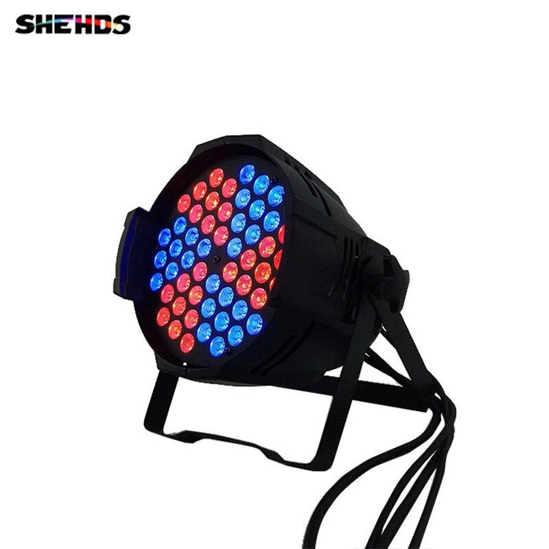 купить 10pcs/lot 54X9W RGB 3in1 Can Windmill Color DMX Channel DMX 512 Windmill pattern LED Stage Light for DJ party Factory Directly по цене 52358.08 рублей