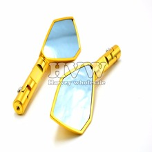 Motorcycle universal CNC motorcycle rearview Side mirror for YAMAHA XJR400/1300 V-MAX1200 FZ-1N FZ-6N  YZF-R1 YZF-R6 FZ1S FZ6S