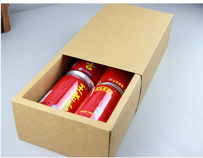 Kraft Gift Box Packaging Kraft Drawer Boxes Cosmetics