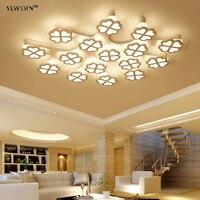 2018 Hot Sale Ce Abajur New Acrylic Modern Led Ceiling Lights For Living Room Bedroom Home
