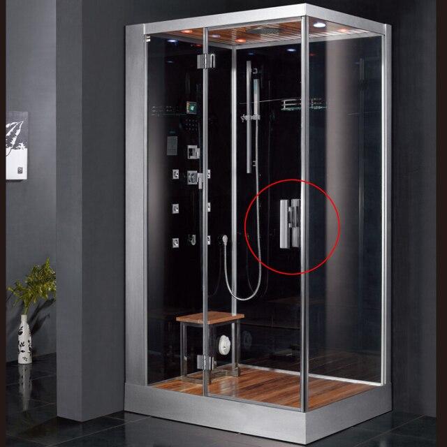vapor cabina de ducha de vidrio mango accesorios de bao con ducha puertas sola manija