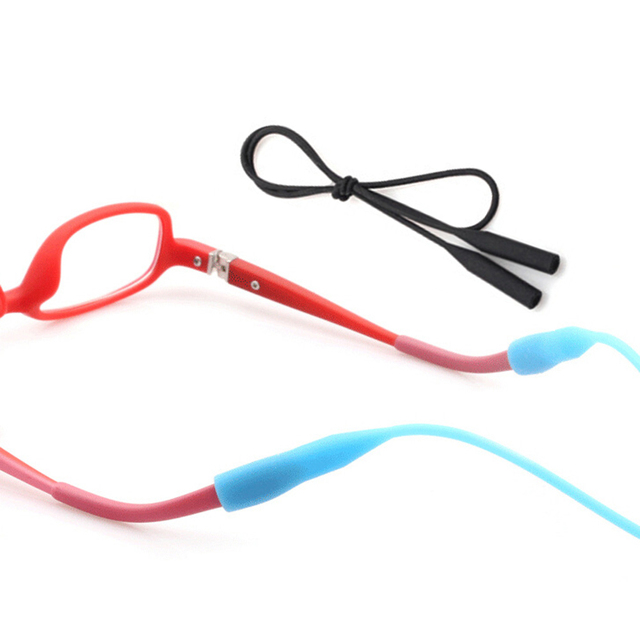 7da591c6e12 Anti-Slip Silicone Eyeglass Strap Chain Holder Glasses Neck Cord Ropes Eyeglass  Accessories