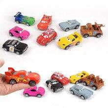 Disney Pixar тачки 3 Молния Маккуин Джексон шторм матер 1:55 мультфильм модель автомобиля игрушка Рождественский подарок для детей мальчиков