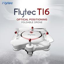 Flytec T16 Folding Pocket RC Drone Quadcopter High Definition Wifi Remote Control Aircraft RC Drone with Camera
