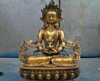 """Darmowe 17 """"Tybet Buddyzm Brąz Padmasambhava Zielona Tara Budda Statua Rzeźby szybka w Posągi i rzeźby od Dom i ogród na"""