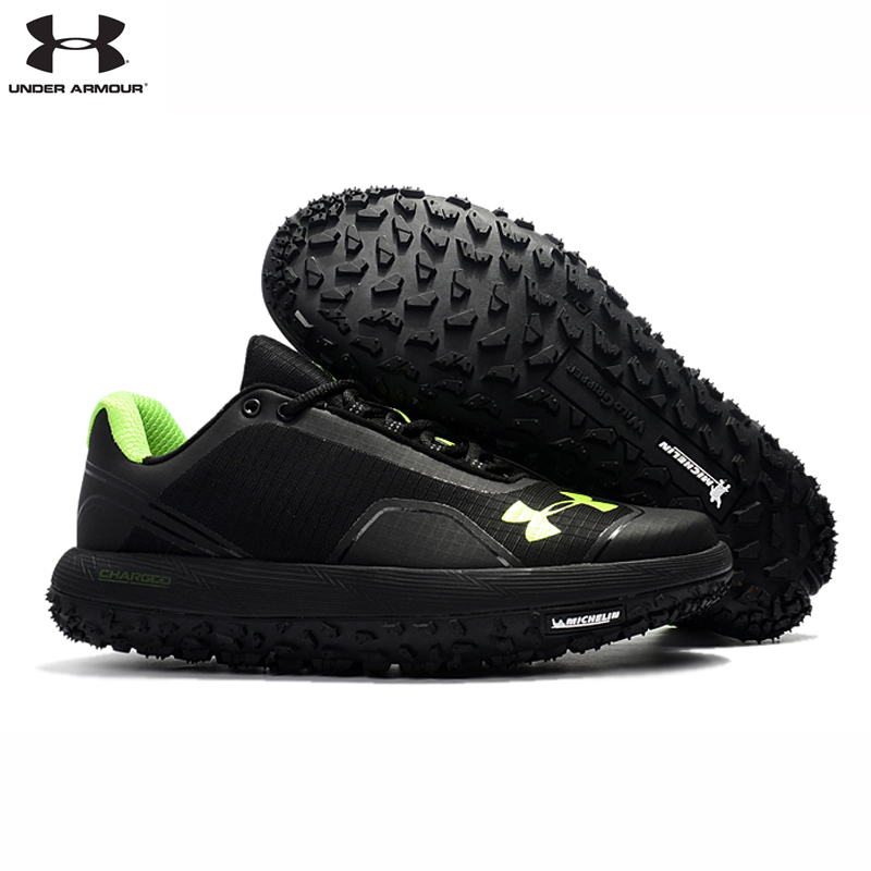 Under Armour Mens UA Fat Tire Anti Slip Rubber Bottom Outdoor Sport Cross Country Running Shoes