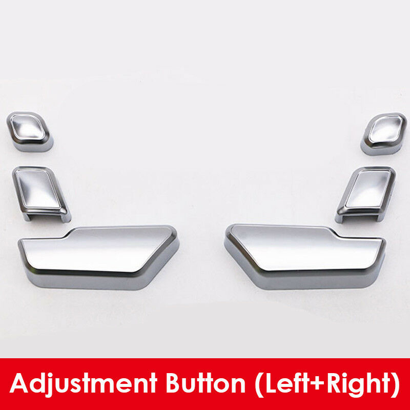 New Silver Trim Seat Button Cover For Mercedes-Benz E C Class W212 218 CLS GL Silver Frame