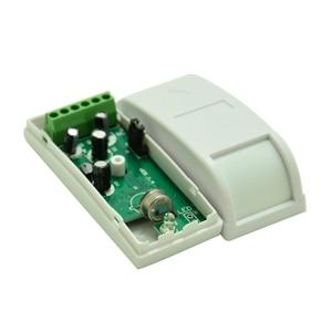 Image 4 - 4 PCS/Lot 461 Wired Passive Infrared Detector Mini Curtain PIR Motion Sensor For Home security Indoor Curtain burglar alarm