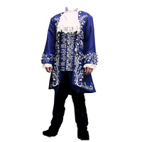 2017 Movie Beauty And the Beast Hoàng Tử Adam Men Anime Đảng Halloween Cosplay Carnival Trang Phục