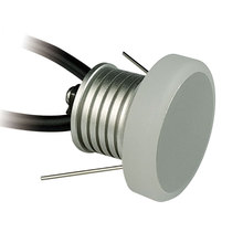 anti glare / anit dazzel  waterproof mini led downlight 1W 105LM DC12V Dia35mm IP65 cabinet lamp outdoor path corner light