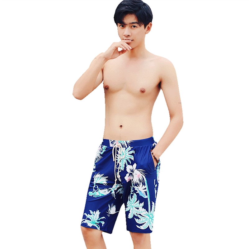 Quick dry swimming men's shorts summer outdoor leisure beach pants