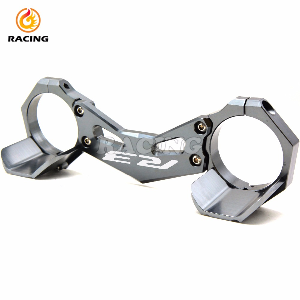 ФОТО for yamaha yzf- r3 yzf r3 2015 16 motorcycle carrying fork holder mounting frone fork bracket damping anti-friction protection