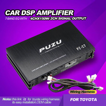 Car-Dsp-Amplifier Processor Subwoofer Factory-Cable Output-Audio PUZU Toyota with Fit-For