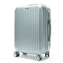 EVISPO 2016 new 24-inch 20-inch men and women suitcase striped suitcase board chassis password maletas de viaje con ruedas