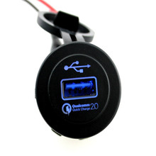 Car charger QC 2.0 fast charge new car quick waterproof single hole USB
