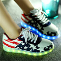 Women&Men Led Shoes Stars Series Casual light Shoes Glow LED Luminous Shoes Woman Light up Chaussure Lumineuse USB Basket Femme