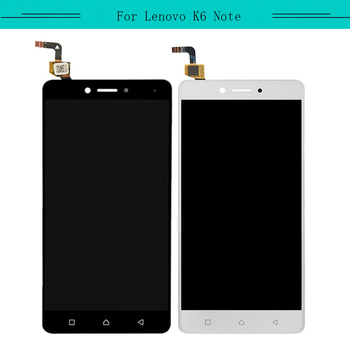 Tested 3pcs/lot Complete For Lenovo K6 Note K53a48 Full Lcd Display Aseembly With Touch Screen Glass Digitizer Free Shipping