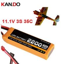 35c 3 s 11.1 v 2200 mah bateria da aeronave modelo modelo de avião de ar drone bateria aeromodelismo bateria bateria de polímero de lítio