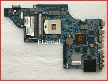 Top quality 665349-001 for HP Pavilion DV6 DV6-6000 laptop motherboard HM65 100% Tested working