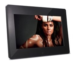 10 inch Full HD Digital Photo Frame (IPS screen 16:9 1280*800, HDMI-In, Remote,picture slide show, video, music, clock, alarm)