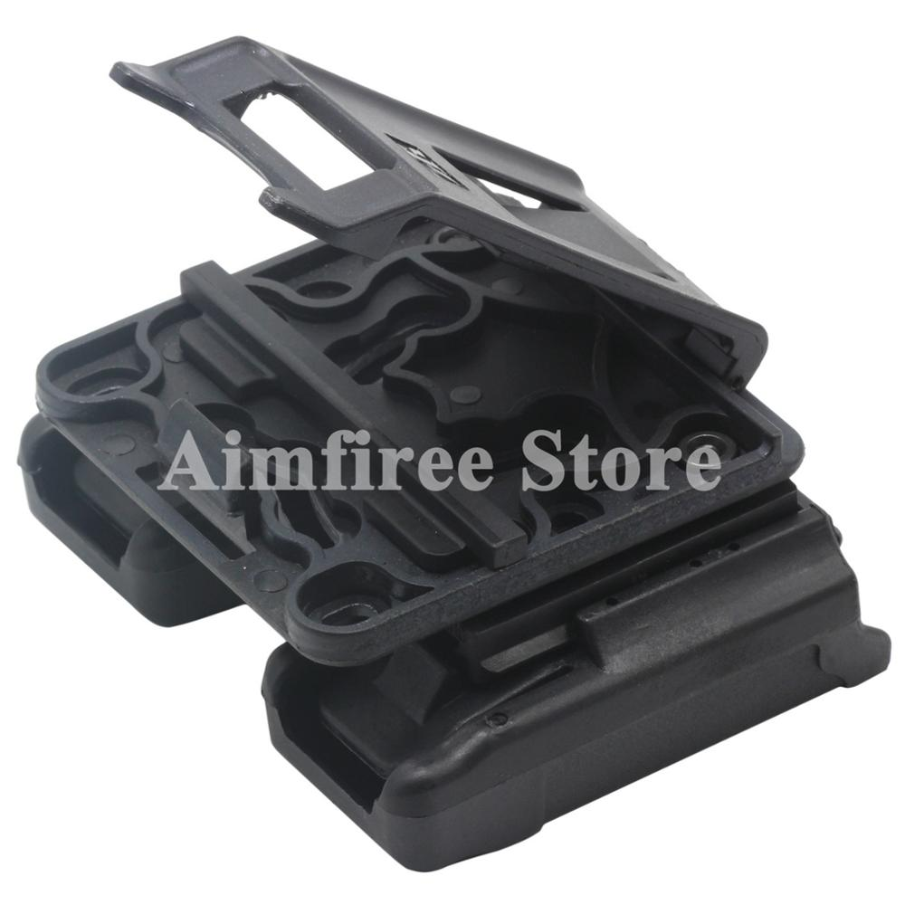 USP P226 Paddle Style Double Magazine Holster Pouch For Glock 9mm 40 Cal Mags