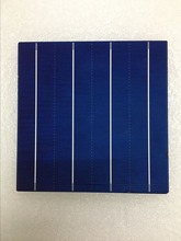 New Product hot sale 18.4 High Efficiency 156*156 Polycrystalline Silicon Solar cell For DIY solar panel