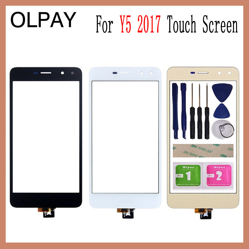OLPAY 5.0 For Huawei Y5 2017 Y5III MYA-L22 MYA-L23 Touch Screen Touch Digitizer Panel Glass Tools Free Adhesive And WipesOLPAY 5.0 For Huawei Y5 2017 Y5III MYA-L22 MYA-L23 Touch Screen Touch Digitizer Panel Glass Tools Free Adhesive And Wipes