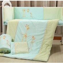 Promotion! baby bedding set curtain berco crib bumper