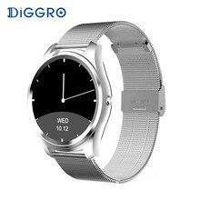Diggro DI03 Смарт часы Bluetooth 4,0 Пульс IP67 Водонепроницаемый MTK2502 вызов SMS напоминание шагомер для Android IOS PK K88H