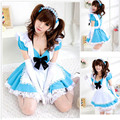 Новый Японии Аниме Косплей Костюм Каваи Лолита Синий Платье Для Женщин Женское Платье Бесплатная Доставка M, L Размер