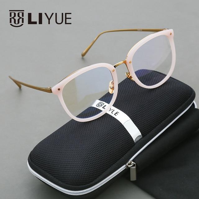 2016 круглые очки рамки мода очки очки рамки для женщин очки по рецепту винтаж компьютерные очки 222