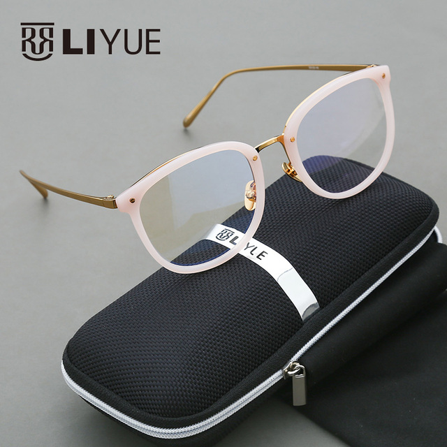 5b604f294cb6 2016 round glasses frame clear fashion glasses eye glasses frames for women  prescription eyewear vintage computer