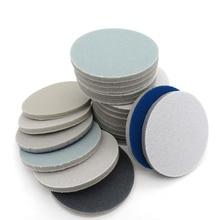 "1"" 1.2"" 2"" 3"" 4"" 5"" 6"" Spong Foam Sandpaper Disc 300 3000 Grit Hook Loop Polishing Sanding Paper Self sticking Abrasive Tools"