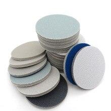 """Disque de papier abrasif, mousse, grain 1.2 300, pour polissage, 1 """", 3000"""", 2 """", 4"""", 5 """", 6"""", éponge, papier abrasif"""