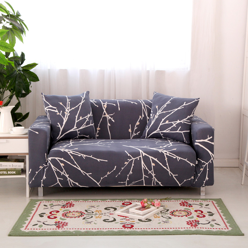 four seasons universal stretch sofa covers furniture protector polyester modern loveseat couch. Black Bedroom Furniture Sets. Home Design Ideas