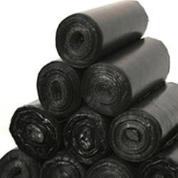 Утолщенный черный мешок для мусора для домашнего офиса одноразовые пластиковые мешки для мусора