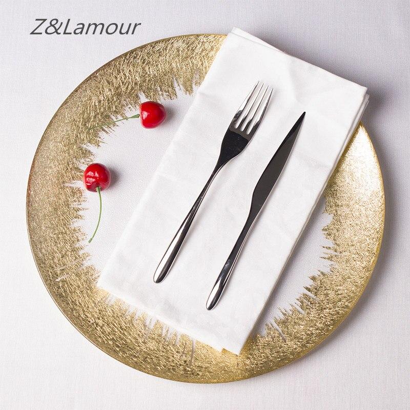 Europäischen stil glas obst platte für hochzeit vorbereitung ladegerät-in Besteck-Sets aus Heim und Garten bei  Gruppe 1