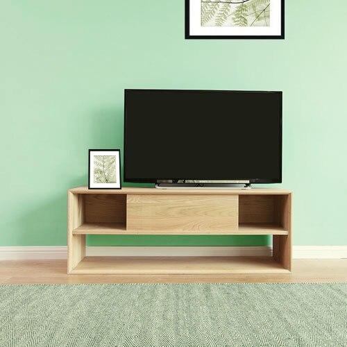 Oak Tv Cabinet Modern Minimalist Wood Cabinets With Doors Locker
