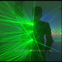 Green Laser Man Luminous Waistcoat Laserman Show Costume With 12pcs 532nm 100mW Lasers Laser Show Suit For Party Supplies