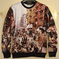 2016 New Autumn winter hoody women/men high-quality market print hoodies hip hop sweatshirt 3d casual pullover