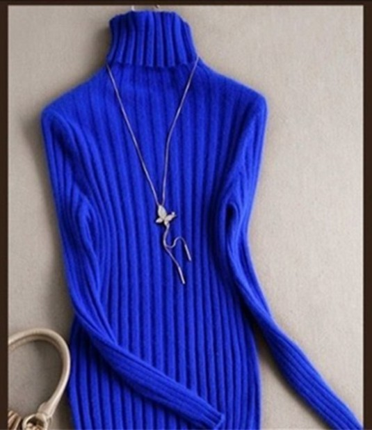 2018 quality Cashmere sweaters turtleneck Sweaters fall and winter fashion Cashmere Sweater dress Slim 9 colors