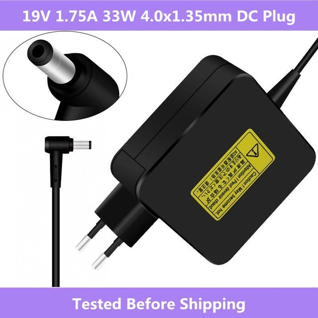 ASUS 19V 1.75A 33W AC Laptop Power Adapter Travel Charger For ASUS Vivobook S200 S220 X200T X202E X553M Q200E X201E ADP 33AW