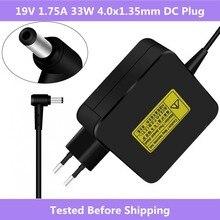 ASUS adaptador de corriente para portátil, 19V, 1,75a, 33W, cargador de viaje para ASUS Vivobook S200 S220 X200T X202E X553M Q200E X201E ADP 33AW