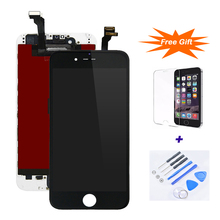 10PCS/Lot Factory Price Sale 5.5inch LCD For iPhone 6P strictly tested LCD Touch Screen Display Digitizer Assembly For iPhone 6P