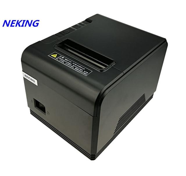 Высокое качество pos-принтера 80 мм Тепловая Билл чековый принтер автоматической резки принтер Скорость печати быстро 200 мм/сек.