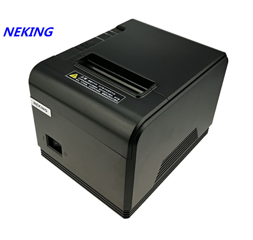 High quality pos printer 80mm thermal bill receipt printer automatic cutting machine printer printing speed Fast 200mm/s wholesale brand new 80mm receipt pos printer high quality thermal bill printer automatic cutter usb network port print fast
