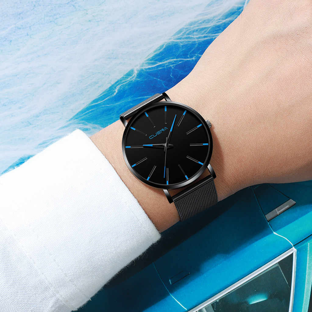 Relogio Masculino mens watches Top Brand Luxury Ultra-thin wristwatch men's watch Men's Watch Clock erkek kol saati reloj hombre