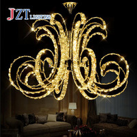 Z Modern LED Crystal Ceiling Lamp Luxury Art Lustre LED Chip Lamp Fixture For Hotel Restaurant Sittingroom Crystal Droplight