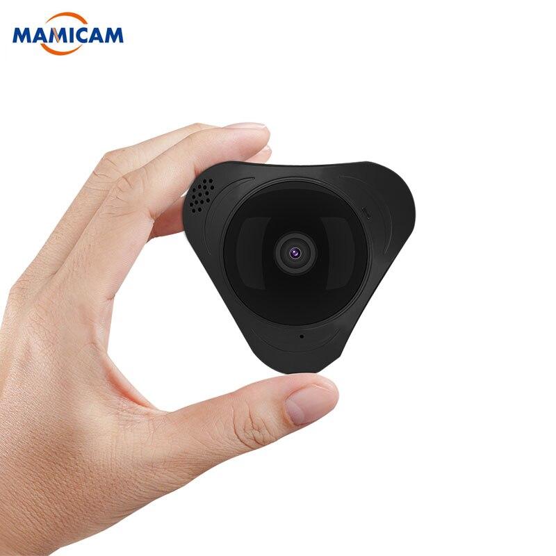 960P 3D VR WIFI Smart Camera 360 Degree Panoramic IP Camera 1.3MP FIsheye Wireless camera w TF Card Slot IR 10M Yoosee цена
