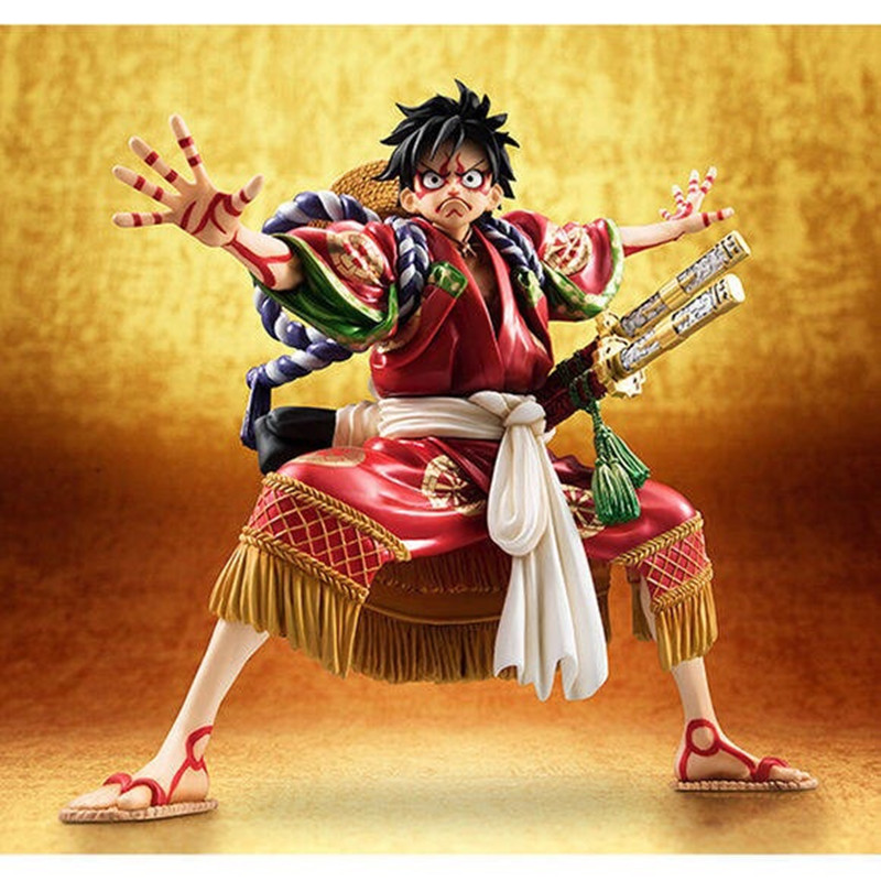 ONE PIECE Luffy Kabuki Edition GK Statue The Straw Hat Pirates Captain PVC Action Figure Collection Model Toy M820ONE PIECE Luffy Kabuki Edition GK Statue The Straw Hat Pirates Captain PVC Action Figure Collection Model Toy M820
